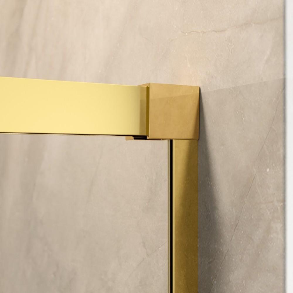 Perete lateral dus Radaway  Idea Gold S1 90 R  montare in dreapta