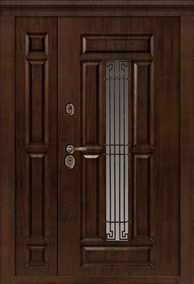Usa metalica pentru exterior Cairo M 862-dubla 125 x 205 cm + accesorii