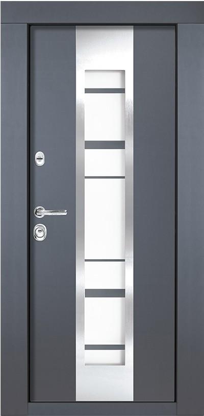 Usa metalica pentru exterior Amsterdam M 65 86 x 205 cm + accesorii
