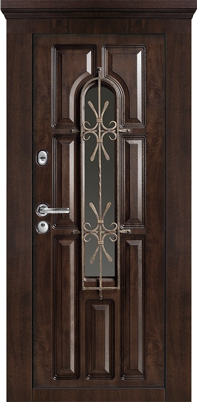 Usa metalica interior/exterior Roma 760-cu geam 86 x 205 cm + accesorii