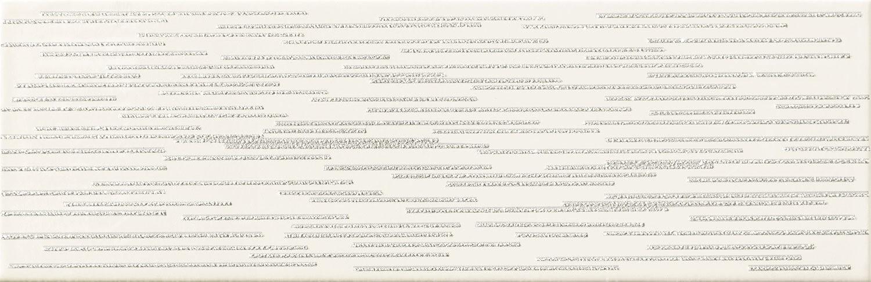 Decor Tubadzin Burano bar D 23.7x7.8 cm, white