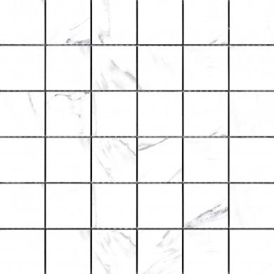 Decor Elada 30x30 / 5 x 5 cm, mosaic white