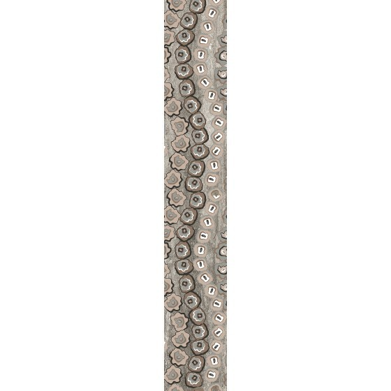 Decor Neos 8x50 cm, mat tiara grey